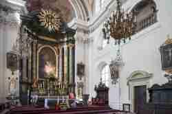 Altar in der Pfarrkirche in Ottmachau