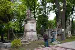 Grab von Seweryn Goszczyński in Lemberg
