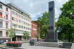Foto vom Denkmal der Freiheit in Bromberg