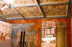 Wandmalerei Joseph und die Frau des Potiphars in Bad Reinierz