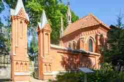 Eingang zum Friedhof Rasos in Vilnius