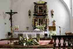 Altar in Klosterkirche in Cadinen (Kadyny)