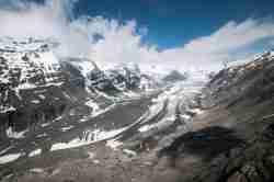 Getscher Pasterze in den österreichischen Alpen Ehemalige polnische Gebiete