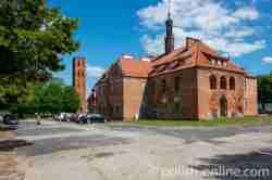 Rathaus von Mehlsack (Pieniężno) Ermland und Masuren