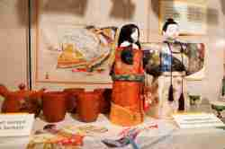 Japanische Puppen im