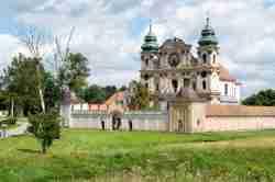 Wallfahrtskirche in Crossen (Krosno) Ermland und Masuren