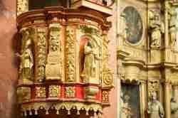Kanzelkorb in der Wallfahrtskirche in Krossen (Krosno)
