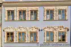 Fassade Konopnica-Haus in Lublin