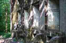 Bunker Transformatorenstation im Mauerwald in Masuren