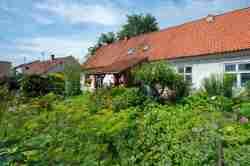 Bauerngarten im Zentrum von Hohenstein (Olsztynek)