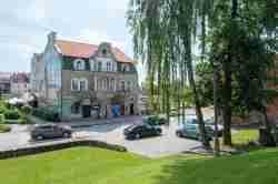 Jugendstilhaus in Hohenstein (Olsztynek)
