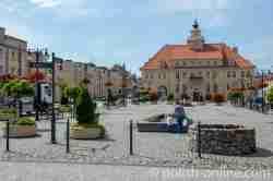 Rathaus von Hohenstein (Olsztynek)