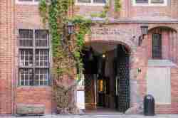 Eingang zum Rathausmuseum  in Thorn
