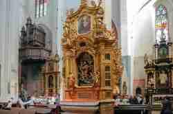 Altar im Johannesdom in Thorn (Toruń)