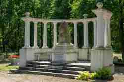 Denkmal für russische Kriegsgefangene in Sagan (Żagań)