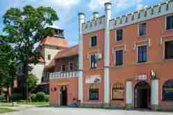 Haus im Stil der Burgenromantik in Żagań