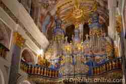 Orgel in der Basilika von Heilige Linde (Święta Lipka)