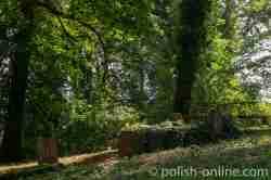 Grab auf dem evangelischen Friedhof in Sensburg