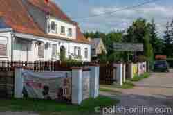 Dorfladen in Eckersberg (Okartowo)