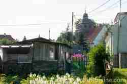 Gartenlaube in Eckersberg (Okartowo)