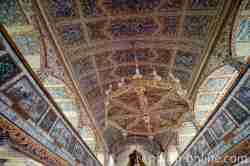 Decke der Marienkirche in Eckersberg (Okartowo)