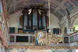 Orgel in der Marienkirche in Eckersberg (Okartowo)
