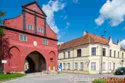 Das Heilsberger Tor in Bischofstein (Bisztynek)