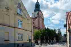 Die Kirche des heiligen Matthias in Bischofsstein (Bisztynek)