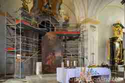 Altar der Kirche St. Matthias in Bischofsstein (Bisztynek)