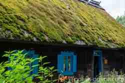 Bauernhaus aus Kaborno im Freilichtmuseum Hohenstein