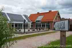 Das Kassenhaus des Freilichtmuseums in Hohenstein