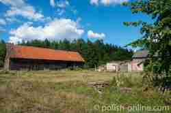 Verfallener Bauernhof in Klein Piwnitz