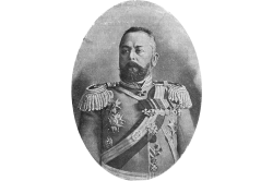 Porträt von General Alexander Samsonow