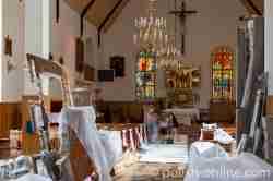 Das Hauptschiff der Alten Kirche in Goldap in Masuren