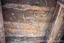 Barocke Malerei Im Eingangsbereich des Steinorter Schlosses in Masuren
