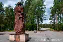 Denkmal auf dem Gelände des ehemaligen Vernichtungslagers Sobibor
