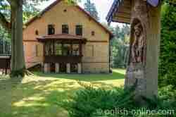 Forsthaus in Pfeilswalde (Strzałowo) in Masuren