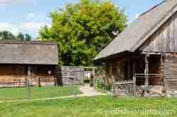 Blockhaus im Freilichtmuseum in Angerburg (Węgorzewo)
