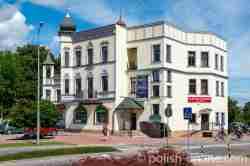 Altes Haus aus der deutschen Zeit in Angerburg in Masuren