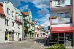 Altstadt von Wormditt (Orneta) im Ermland