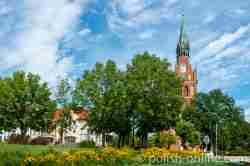 Frühere evangelische Pfarrkirche in Lyck (Ełk)