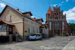 Pfarrhaus der griechisch-katholischen Kirche in Landsberg i. Ostpreußen (Górowo Iławeckie)