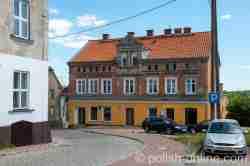 Altes Wohnhaus in Landsberg i. Ostpreußen (Górowo Iławeckie)