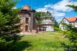 Altes Gaswerk in Landsberg i. Ostpreußen (Górowo Iławeckie) in Polen