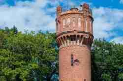 Wasserturm in Landsberg i. Ostpreußen (Górowo Iławeckie) in Polen