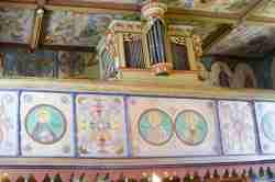 Orgel in einer griechisch-katholischen Kirche in Tylicz