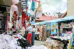Markt in Neu Neu Sandez (Nowy Sącz)
