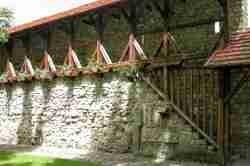 Reste Stadtmauer in Neu Sandez (Nowy Sącz)