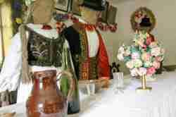 Trachten von Lemken im Freilichtmuseum Neu Sandez