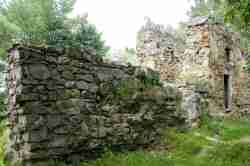 Ruinen der Burg in Neu Sandez (Nowy Sącz)